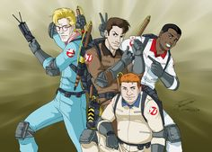 The Real Ghostbusters by Albert217.deviantart.com on @deviantART