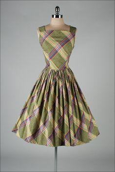 Vintage 1950's dress from Millstreet Vintage