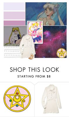 """""""26/50 Usagi/Sailor Moon/Princess Serenity {Favorite Fictional Females}"""" by amarie104 ❤ liked on Polyvore featuring Rebecca Minkoff and Giuseppe Zanotti"""