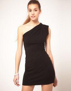 American Apparel One Shoulder Dress