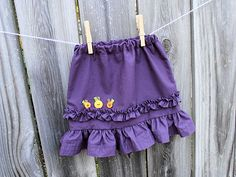 Little Girl Skirt tutorial