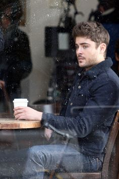 Zac on the set of AWOD in NYC ~ January 23, 2013