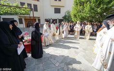 Πανηγύρισε η Ιερά Μονή Αγίου Αθανασίου Σφηνίτσης στην Αγκαθιά