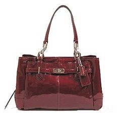 Coach Patent Leather Chelsea Jayden East West Carryall Satchel Bag 17855 Wine Coach, http://www.amazon.com/dp/B0073T2H3Y/ref=cm_sw_r_pi_dp_VDovqb0REET2H