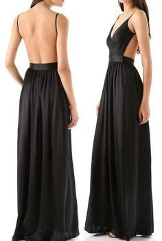"""When last-minute dinner plans ensue, this is the dress to have on hand to save you from the age-old """"what will I wear?"""" It will show your sex appeal and elegance completely. Pick it up from OASAP!"""