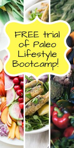 Get motivated! Get inspired! Take a FREE trial of Paleo Lifestyle Bootcamp and get your health in order. It's never too late to take charge of your health.