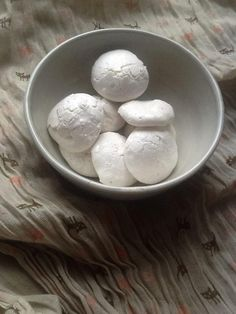 Vegan Meringues -- powered by flax goo! Whips up like egg whites and can be used in place for desserts that need the foamy texture (tiramisu).