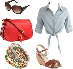 """summer day"" by julinovia on Polyvore"
