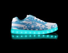 Led Sneakers Light Up Shoes By Bubbblegumdisco Womens Lights For Shoe