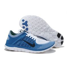 0432daea4db7 Nike-Free-4.0-Flyknit-Men s-Running-Shoe-White-Black-Navy