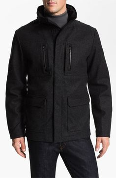 Victorinox Swiss Army® 'Explorer' Wool Blend Jacket available at #Nordstrom