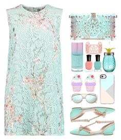 """21.07.17"" by malenafashion27 ❤ liked on Polyvore featuring MSGM, Kate Spade, Dolce&Gabbana, Casetify, Forever 21 and Deborah Lippmann"