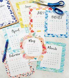 Jo-Ann Printable Calendar More More