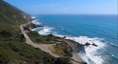 Motorcycle trip on California Coast, Hwy 1
