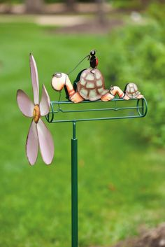 Turtle Transportation Whirligig