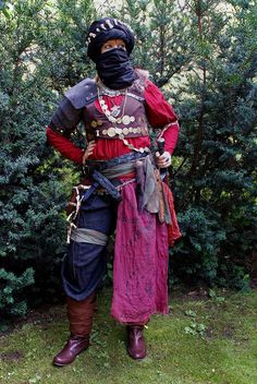 Haradrim warrior cosplay