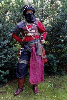 Haradrim warrior cosplay