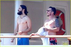 Jared and Shannon - Capri Italy - 28 July 2014 - Source http://www.justjared.com