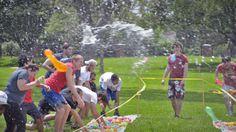 Beat The Heat (Water Balloon Fight) - May 2016