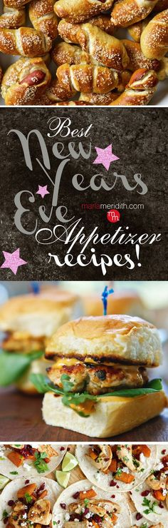 BEST New Year's Eve Appetizer Recipes   MarlaMeridith.com — Family Fresh Cooking