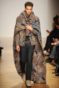Geo-folk: A/W 14/15 young men's catwalk trend flash