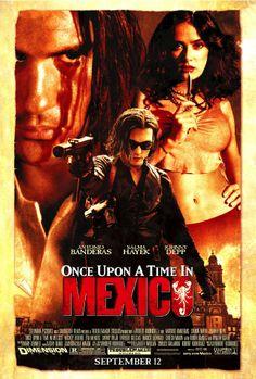 Bir Zamanlar Meksikada - Once Upon A Time In Mexico - 2003 - BRRip Film Afis Movie Poster