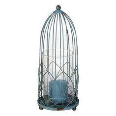 Agave Wire Birdcage Garden Candle Lantern | eBay