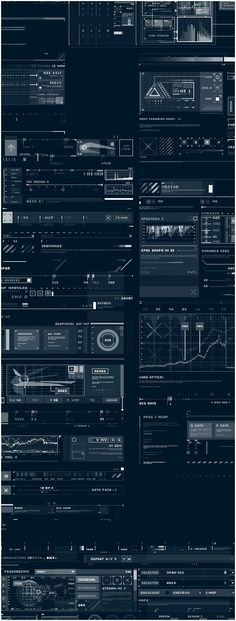 tech interface photoshop brushes