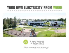 Volter CHP biomass heat and power Cogeneration Your own heat and power from wood