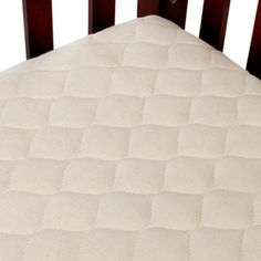 American Baby Organic Quilted Mini Mattress Pad Cover - Crib - 82761A