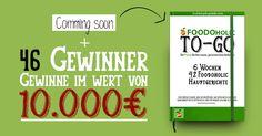 Frühzeitig Informationen und Zugang zum legendärsten Foodoholic Food-Gewinnspiel und Chance auf Preise im Wert von 10.000€ erhalten!