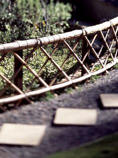 Braced with Bamboo - Japanese #Garden