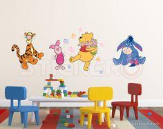 Set Winnie si prietenii - sticker imprimat