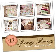 Paper Crafting Kit - beautiful