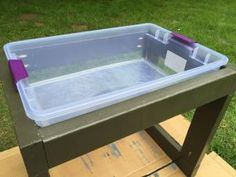 Learn How to Build a Toddler's Water Table | how-tos | DIY