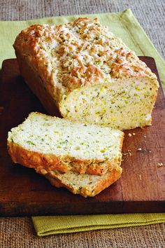 Zucchini is the summer staple we always have on hand and this feta bread is a brilliant new way to enjoy it.