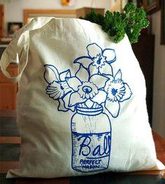 Farmhouse Bouquet Tote Bag