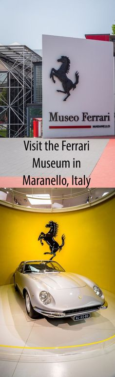Visit the Ferrari Museum in Maranello, Italy - Considered to be Auto Valley where all of the supercars are made