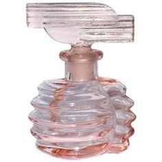 Murano Pink Gold Incamiciato Flower Top Italian Art Glass Perfume Bottle For Sale at 1stdibs
