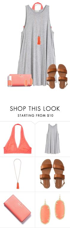"""25 away from 1.5k?! Get me by there by the 8th!!!"" by lydia-hh ❤ liked on Polyvore featuring H&M, Topshop, Aéropostale, Kate Spade, Kendra Scott and Essie"