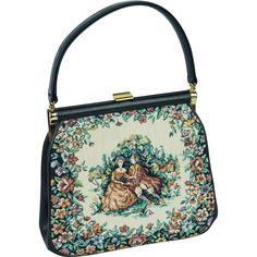 Vintage Tapestry Handbag By Jr