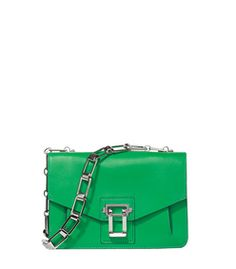 e4817b1bcdf Proenza Schouler Green  Hava  Chain Bag Green Bag