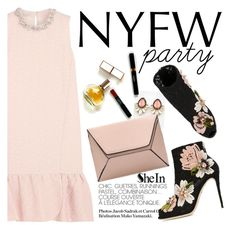 """NYFW party"" by punnky ❤ liked on Polyvore featuring Maryam Keyhani, Dolce&Gabbana, women's clothing, women, female, woman, misses and juniors"