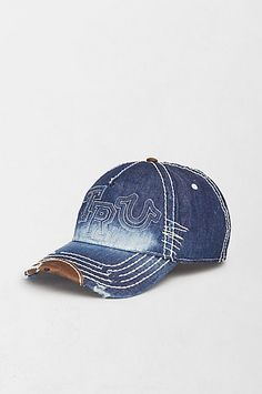 Denim Raised Logo Baseball Cap 8cc8a9936b1