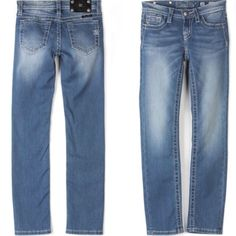 Miss Me Skinny Jeans Light from Freckles Children's Boutique for $78.00