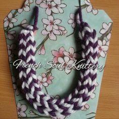 #knit #knitting #yarn #handmade #frenchsoulknittery #knittednecklace #knittedjewelry #knitwear