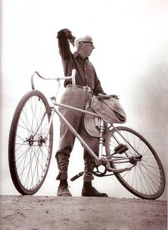 Henry Miller and his best friend.