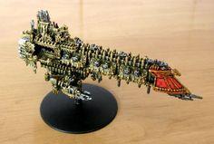 Apocalypse, Battlefleet Gothic, Battleship, Imperial, Navy, Spaceship