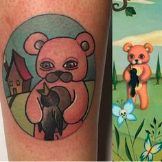 Tattoo de @ana.almagro.roman con material @barber_dts @barberdts.spain.@balm_tattoo Citas / bookings: info@goldstreetbcn.com #tattoo #goldstreettattoo #barcelona