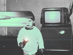 I Want My Kids To Be Weird Pinned strictly for the imagePinned strictly for the image Glitch Art, Vhs Glitch, Psychedelic Art, Grunge Photography, Art Photography, Motion Photography, Sequence Photography, Vaporwave, Collage